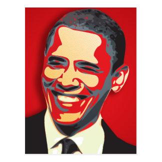 Presidente de Barack Obama 44o Cartão Postal