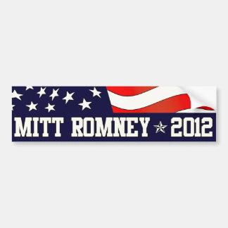 Presidente de Mitt Romney em 2012 Adesivo Para Carro
