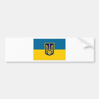 Presidente de Ucrânia na bandeira do mar Adesivo Para Carro