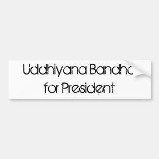 Presidente de Uddhiyana Bandhafor Adesivo Para Carro