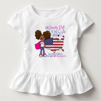 Presidente futuro Criança Plissado T-shirt da