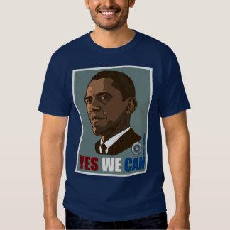 """Presidente Obama """"sim nós podemos"""" t-shirt -"""