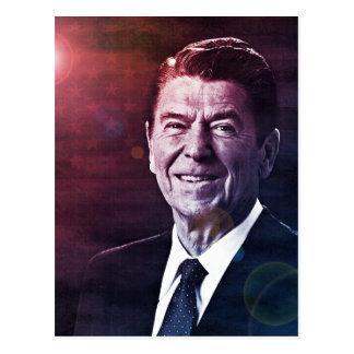 Presidente Ronald Reagan Cartão Postal