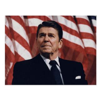 Presidente Ronald Wilson Reagan Cartão Postal