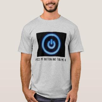 Pressione meu botão t-shirt