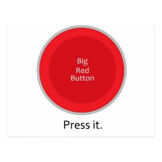 Pressione o botão cartão postal
