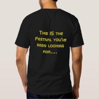 Preto 2016 da camisa do festival de PUF Camisetas