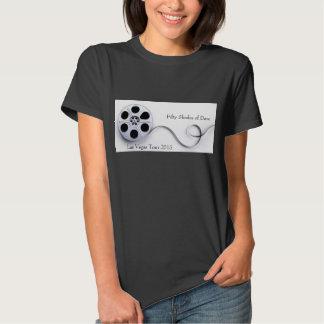 Preto básico do Tshirt do algodão das mulheres
