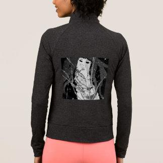 Preto & branco abstratos da sereia t-shirts