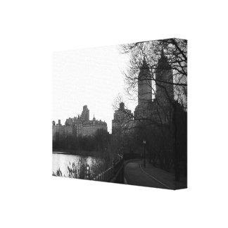 Preto & branco da Nova Iorque NYC do Central Park
