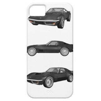 Preto Corveta 1970: Capa Para iPhone 5