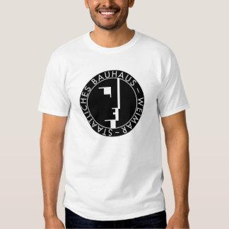 Preto do logotipo do Bauhaus para o tshirt do