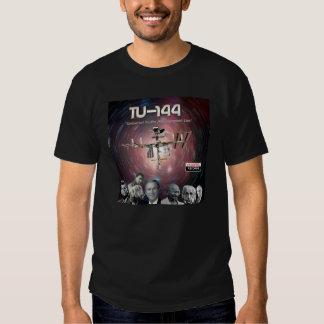 Preto do Tshirt Tu-144