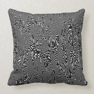 preto e branco travesseiro de decoração