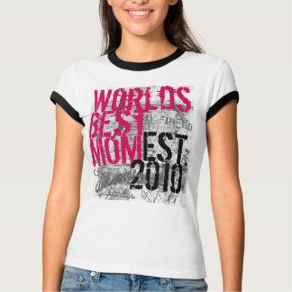 Preto feito sob encomenda do ano, Tshirt da mamã