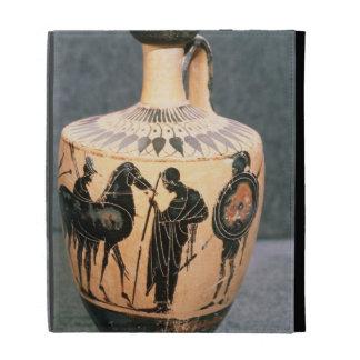 Preto-figura vaso do sótão, século V BC