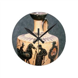 Preto-figura vaso do sótão, século V BC Relógios Para Paredes