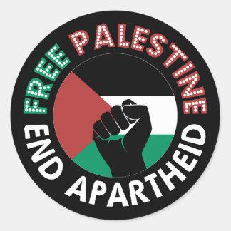 Preto livre do punho da bandeira do Apartheid do Adesivo