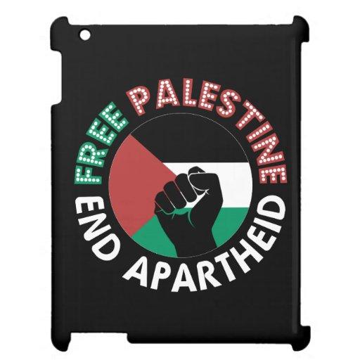 Preto livre do punho da bandeira do Apartheid do Capa iPad