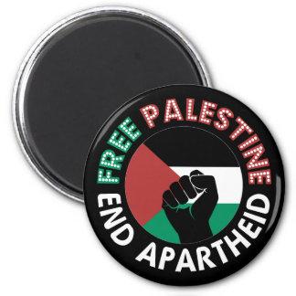 Preto livre do punho da bandeira do Apartheid do Ima De Geladeira