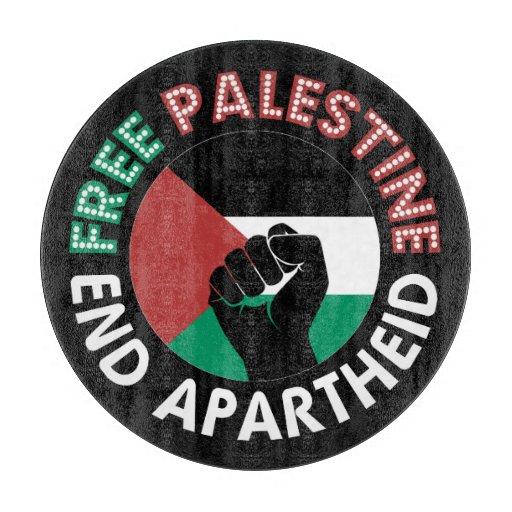 Preto livre do punho da bandeira do Apartheid do Tábua De Corte