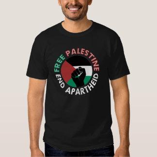 Preto livre do punho da bandeira do Apartheid do Tshirts