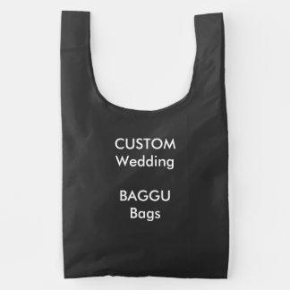 PRETO reusável das bolsas do costume BAGGU