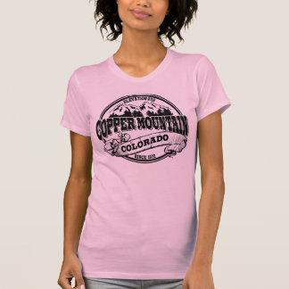 Preto velho do círculo da montanha de cobre camiseta