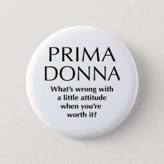 Prima orgulhoso Donna - o poder das mulheres Bóton Redondo 5.08cm
