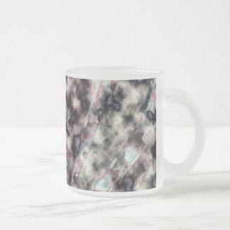 Primavera separado caneca de café vidro jateado