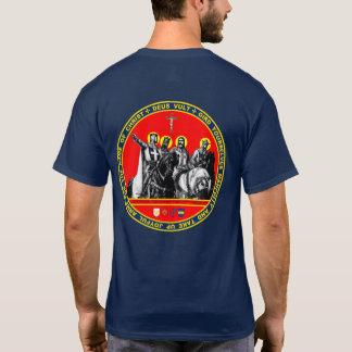 Primeira camisa do selo dos cruzados