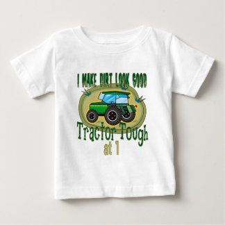 Primeiro aniversario resistente do trator t-shirts
