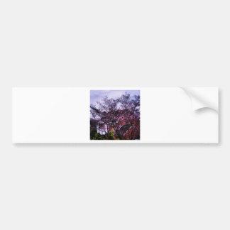 Primeiro bocado da flor adesivos