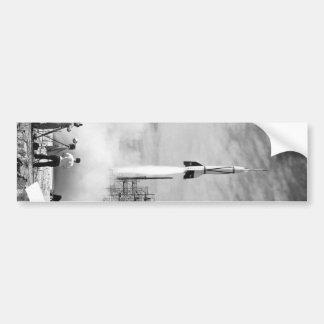"""Primeiro lançamento de Rocket, Cabo Canaveral, """"pá Adesivo Para Carro"""