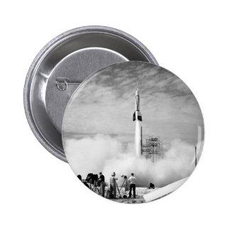 "Primeiro lançamento de Rocket, Cabo Canaveral, ""pá Bóton Redondo 5.08cm"