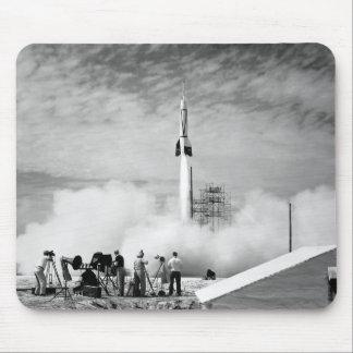 "Primeiro lançamento de Rocket, Cabo Canaveral, ""pá Mouse Pad"