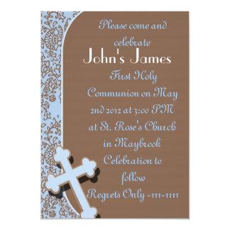 Primeiros convites do comunhão santamente para