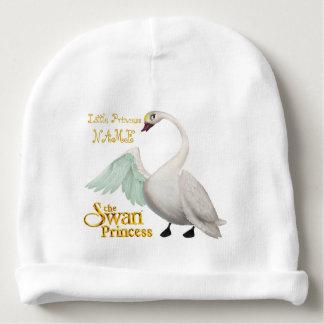 Princesa Bebê Algodão Beanie da cisne Gorro Para Bebê