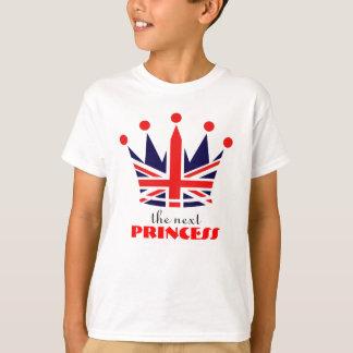 Princesa britânica Coroa Tshirts