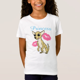 Princesa Camisa da chihuahua