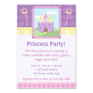 Princesa convite de festas