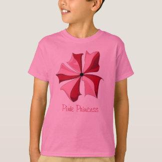 Princesa cor-de-rosa Coleção Tshirt
