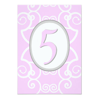 Princesa cor-de-rosa customizável convites de