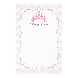 Princesa cor-de-rosa elegante Tiara, coroa para Papelaria