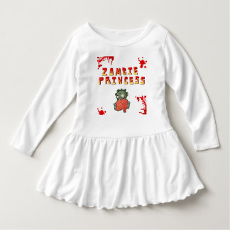 Princesa Criança Pingamento do zombi Tshirts