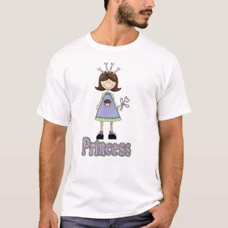 Princesa Cupcake T Camisa das meninas