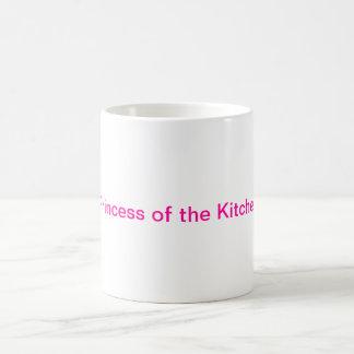 Princesa da caneca de café da cozinha