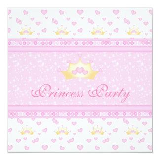 Princesa de coroas bonito festa de aniversário