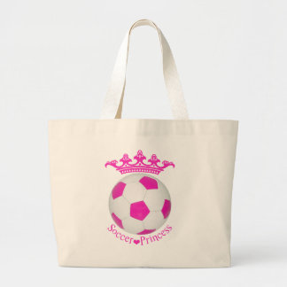 Princesa do futebol, bola de futebol cor-de-rosa bolsa