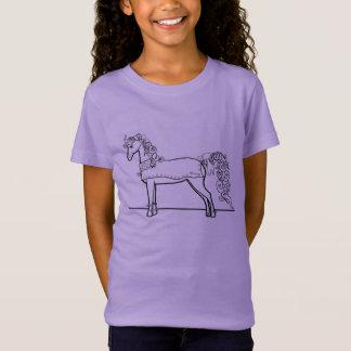 Princesa do pônei tshirts